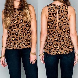 Show me Your Mumu leopard tank top